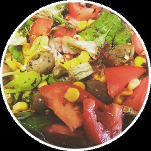 Salade als lunch