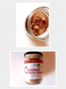 Kokosbloesem suiker
