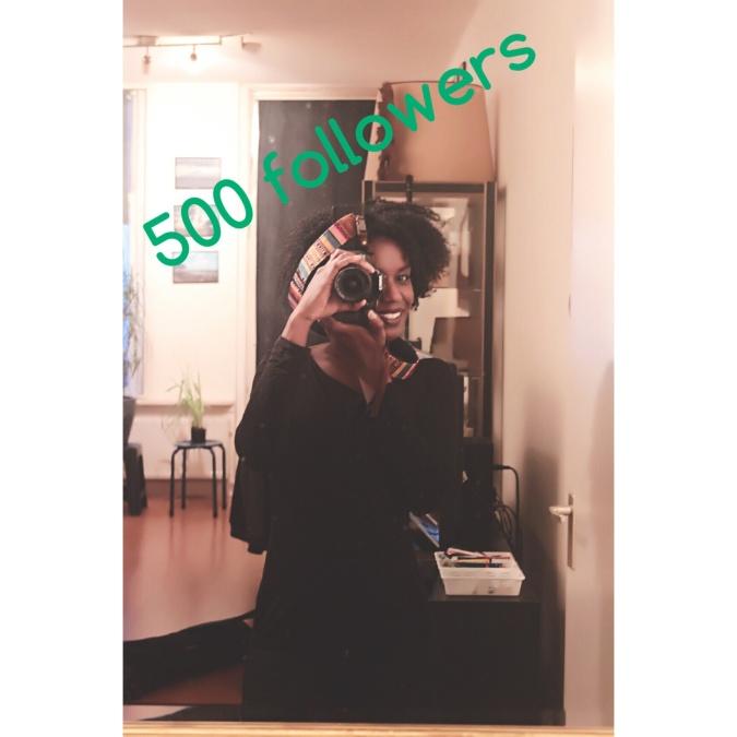 500 volgers
