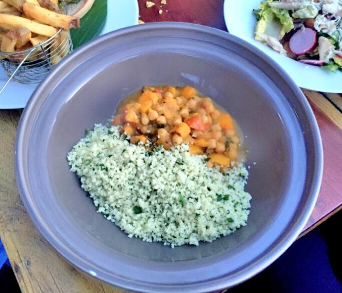 veggie meal met kikkererwten