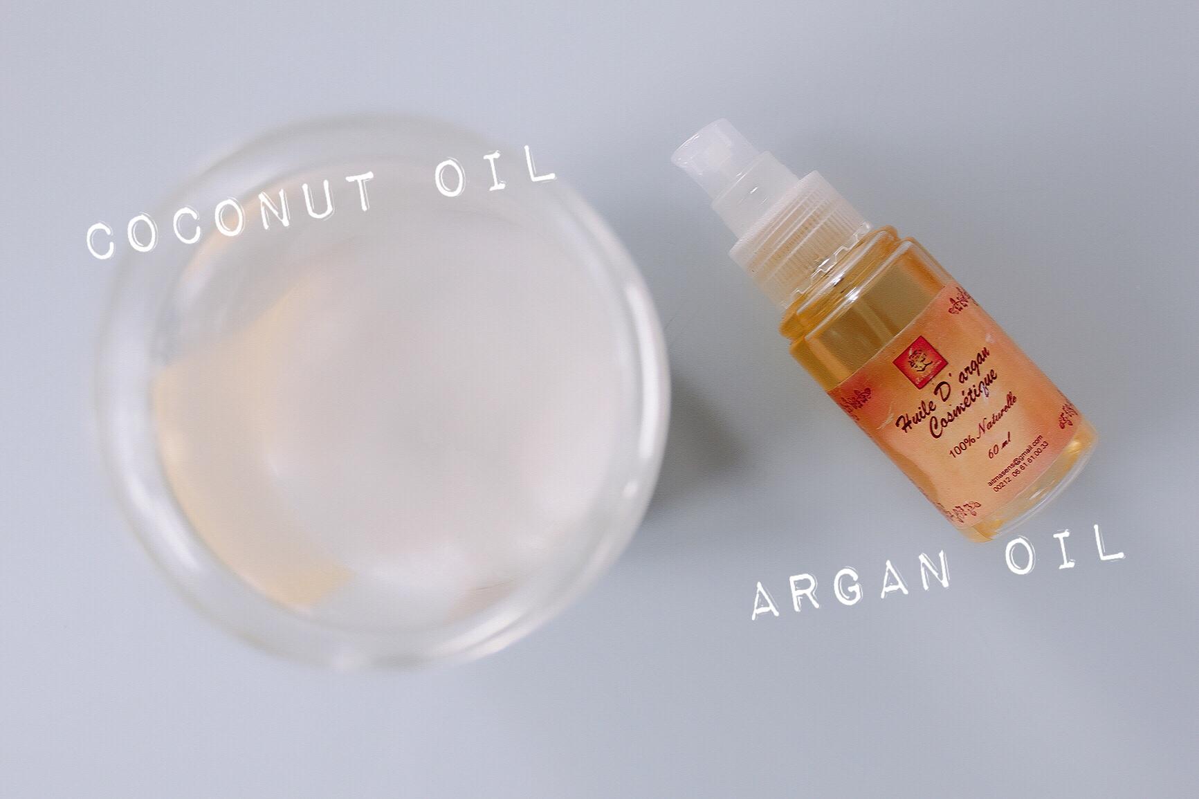 Argan oil coconut oil