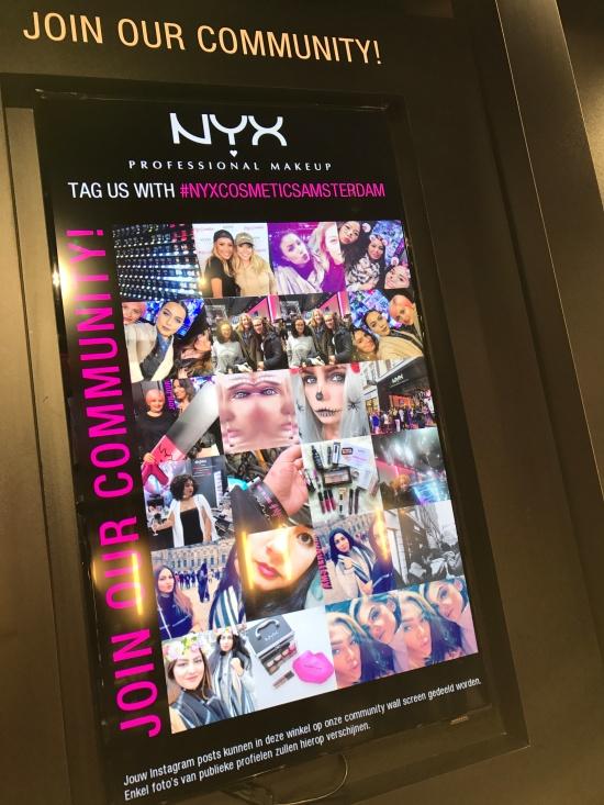 NYX on social media