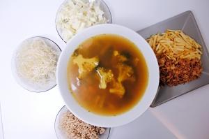 ingredients vegan soup