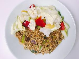 vegan Nasi goreng