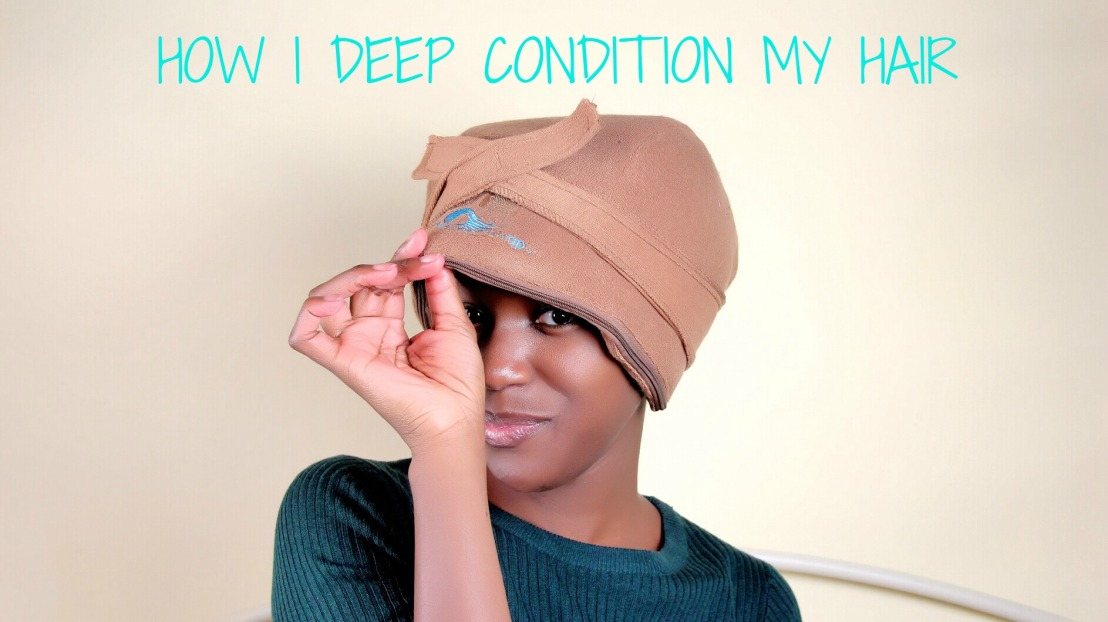 How I deep condition my kinky hair