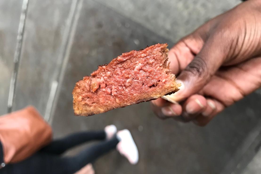 Vegan steak tasting(review)