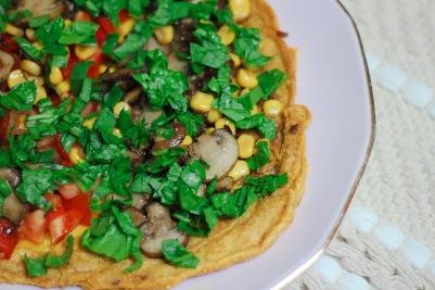 Vegan omelet