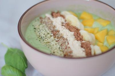 green fruit bowl