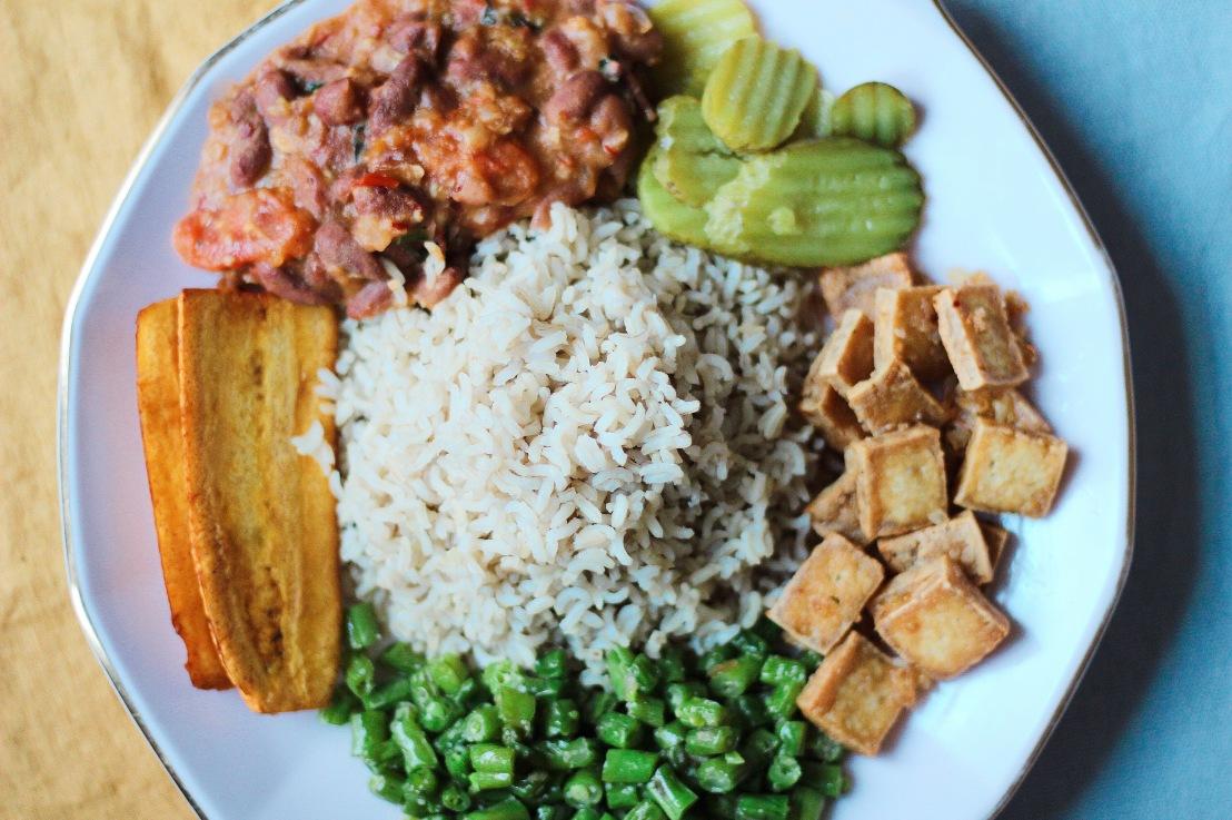 Bruine bonen met rijst | Brown beans with rice(recipe)